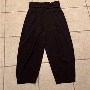 Silence + noise Urban Outfitters Black Work Pants
